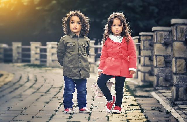 krásné děti